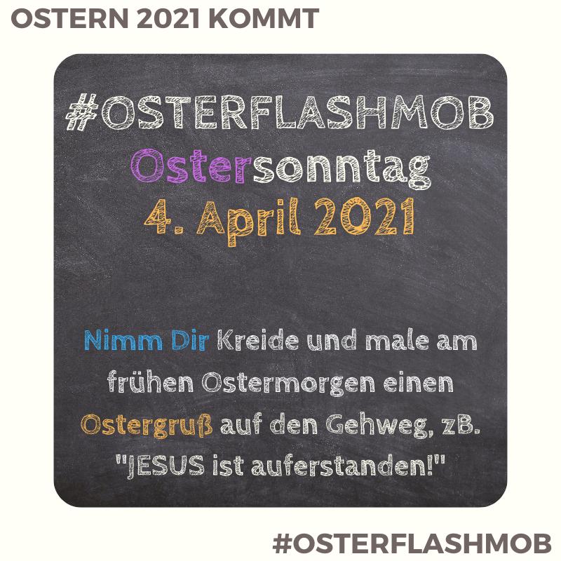 Osterflashmob2021